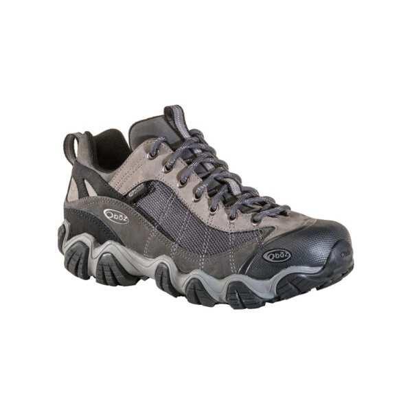 【オボズ】 メンズ ファイアーブランド 2 ロ― ビードライ [サイズ:US8(26.0cm)] [カラー:グレー] #21301-GRAY 【スポーツ・アウトドア:登山・トレッキング:靴・ブーツ】【OBOZ MENS Firebrand II LOW B-DRY】