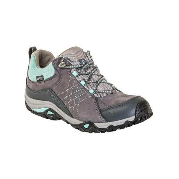 【オボズ】 ウィメンズ サファイア ロ― ビードライ [サイズ:US7(24.0cm)] [カラー:チャコール×ビーチグラス] #71602-CHARC 【スポーツ・アウトドア:登山・トレッキング:靴・ブーツ】【OBOZ WOMENS Sapphire Low B-DRY】