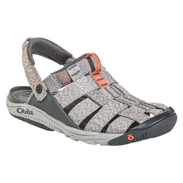 【オボズ】 ウィメンズ キャンプスタ― サンダル [サイズ:US6(23.0cm)] [カラー:ヘザーグレー×コーラル] #60502-HEATH 【靴:レディース靴:サンダル:スポーツサンダル】【OBOZ WOMENS Campster】