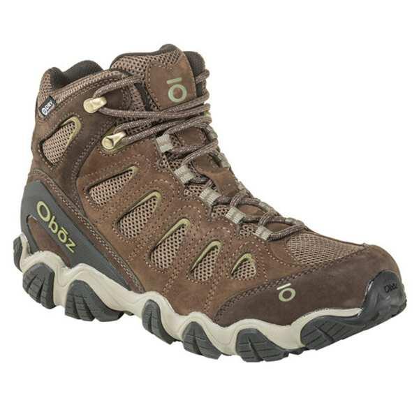 【オボズ】 メンズ ソウトゥース 2 ミッド ビードライ [サイズ:US8.5(26.5cm)] [カラー:カンティーン×メイフライグリーン] #23701-CANTE 【スポーツ・アウトドア:登山・トレッキング:靴・ブーツ】【OBOZ MENS Sawtooth II Mid B-DRY】