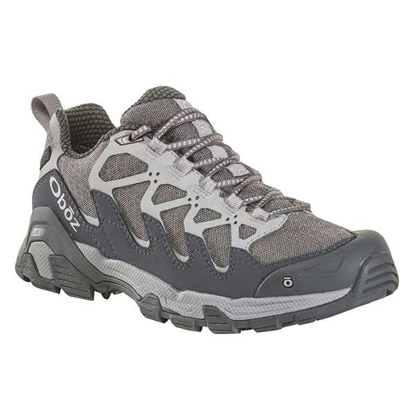 【オボズ】 ウィメンズ サーク ロ― ビードライ [サイズ:US7.5(24.5cm)] [カラー:ピューター×バイオレットアイス] #41502-PEWTE 【スポーツ・アウトドア:登山・トレッキング:靴・ブーツ】【OBOZ WOMENS Cirque Low B-DRY】