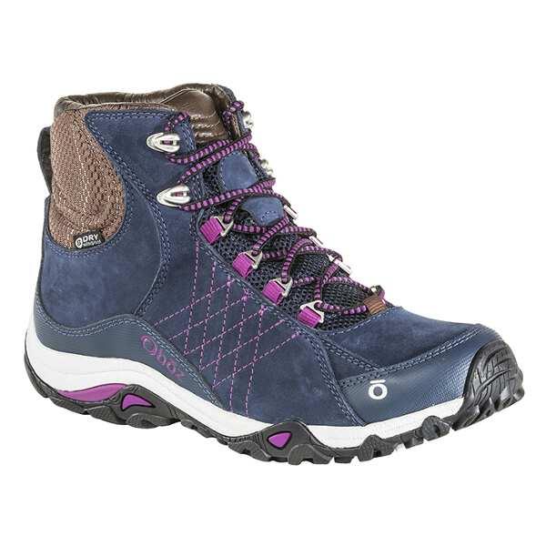 【オボズ】 ウィメンズ サファイア ミッド ビードライ [サイズ:US6.5(23.5cm)] [カラー:ハックルベリー] #70602-HUCKL 【スポーツ・アウトドア:登山・トレッキング:靴・ブーツ】【OBOZ WOMENS Sapphire Mid B-DRY】