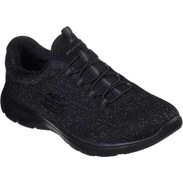 【スケッチャーズ】 ウィメンズ SUMMITS-LOVELY SKY レディース [サイズ:23.0cm] [カラー:ブラック×ブラック] #12987-BBK 【靴:レディース靴:スニーカー】【SKECHERS】