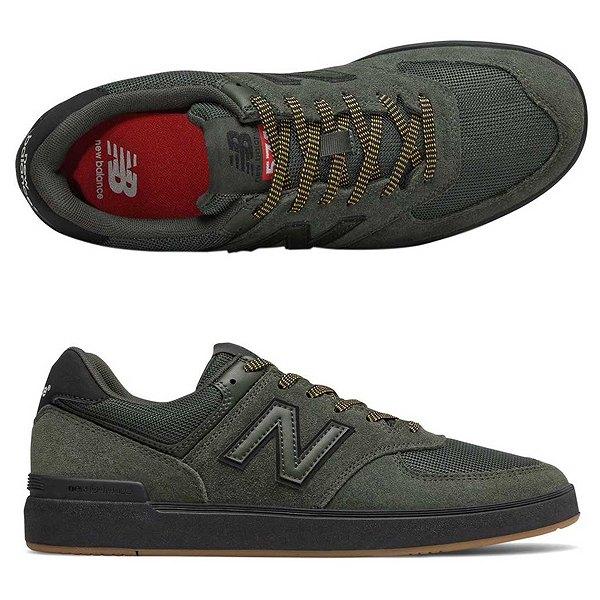 【ニューバランス】 ニューバランス ヌメリック AM574BOV [サイズ:26cm (US8) Dワイズ] [カラー:グリーン×ブラック] 【靴:メンズ靴:スニーカー】【AM574】【NEW BALANCE】