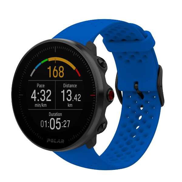 【ポラール】 Vantage M(バンテージM) 日本正規品 手首心拍計測搭載GPSウォッチ [カラー:ブルー] [バンドサイズ:M/L] #90080197 【スポーツ・アウトドア:ジョギング・マラソン:GPS】【POLAR】