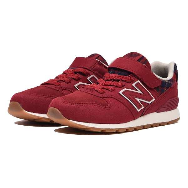 【ニューバランス】 YV996 ジュニア [サイズ:20.0cm] [カラー:レッドチェック] #YV996CG 【靴:メンズ靴:スニーカー】【NEW BALANCE】