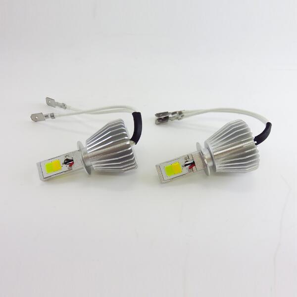 【ブレイス】 ツインカラ― LEDフォグランプ Y/W H3 #BE-355 【カー用品:ライトランプ:フォグライト:LED】【BRAITH】