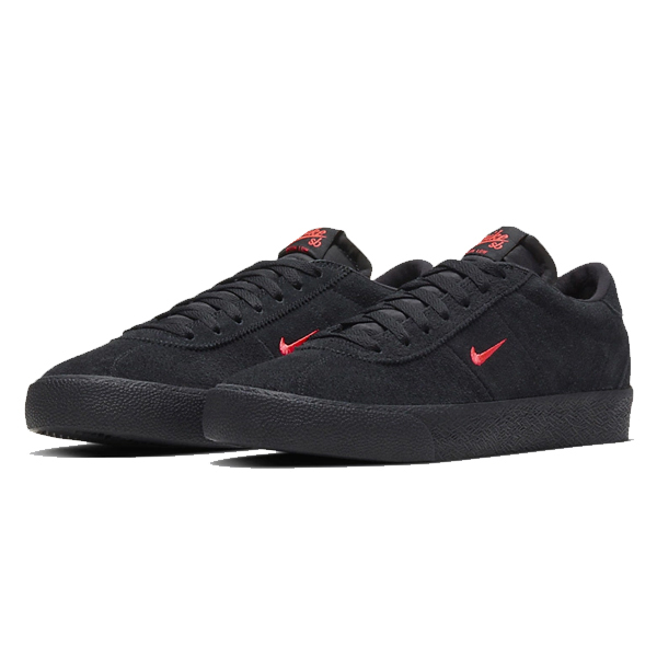 【ナイキ】 ナイキSB ズーム ブルウィン [サイズ:28.5cm(US10.5)] [カラー:ブラック×ブライトクリムゾン] #AQ7941-007 【靴:メンズ靴:スニーカー】【AQ7941-007】【NIKE NIKE SB ZOOM BRUIN】