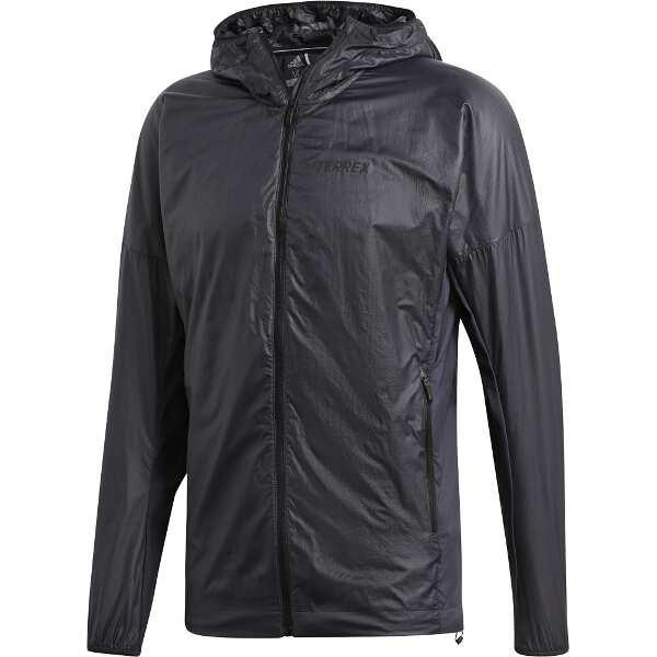 【アディダス】 Agravic Hooded Alpha Shield [サイズ:O] [カラー:カーボン] #FSX56-DQ1494 【スポーツ・アウトドア:アウトドア:ウェア:メンズウェア:アウター】【ADIDAS】