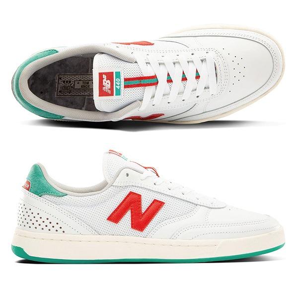 【ニューバランス】 ニューバランス ヌメリック NM440TKX [カラー:ホワイト×レッド×エメラルドグリーン] [サイズ:29cm (US11) Dワイズ] 【靴:メンズ靴:スニーカー】【NM440】【NEW BALANCE New Balance ML801】
