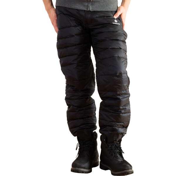 【カナディアンイースト】 ダウンパンツ メンズ用 750FP [サイズ:XXL] [カラー:ブラック] #CEW3012PA2-BLK 【スポーツ・アウトドア:アウトドア:ウェア:メンズウェア:ロングパンツ】【CANADIAN EAST】