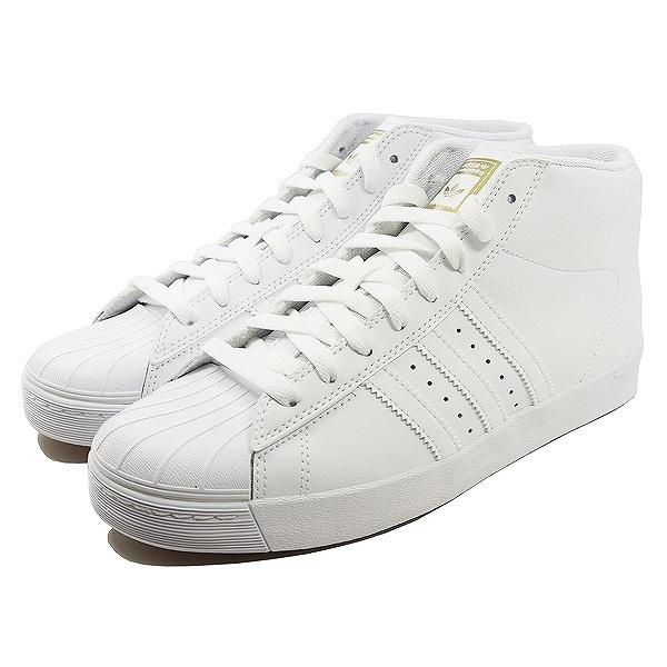 【アディダス】 アディダス スケートボーディング プロモデル バルカ [サイズ:28.5cm(US10.5)] [カラー:ホワイト×ホワイト×ゴールド] #CQ1174 【靴:メンズ靴:スニーカー】【CQ1174】【ADIDAS adidas PRO MODEL VULC FTWWHT/FTWWHT/GOLDMT】