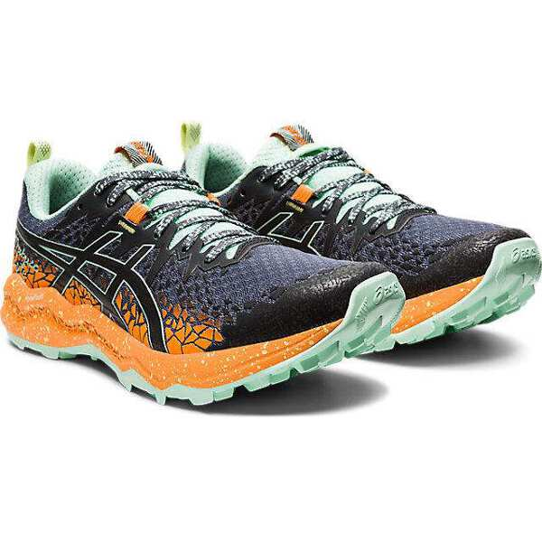 【アシックス】 フジトラブーコ ライト レディーストレイルランニングシューズ [サイズ:25.0cm] [カラー:メトロポリス×オレンジポップ] #1012A599-020 【スポーツ・アウトドア:登山・トレッキング:靴・ブーツ】【ASICS FujiTrabuco Lyte】