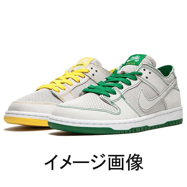 【ナイキ】 (左右非対称 左右のカラーはお選びいただけません) ナイキSB ズーム ダンク LOW プロ デコントラクテッド QS [サイズ:27cm(US9)] [カラー:ホワイト×アロエベルデ] #AR1399-113 【靴:メンズ靴:スニーカー】【AR1399-113】【NIKE】