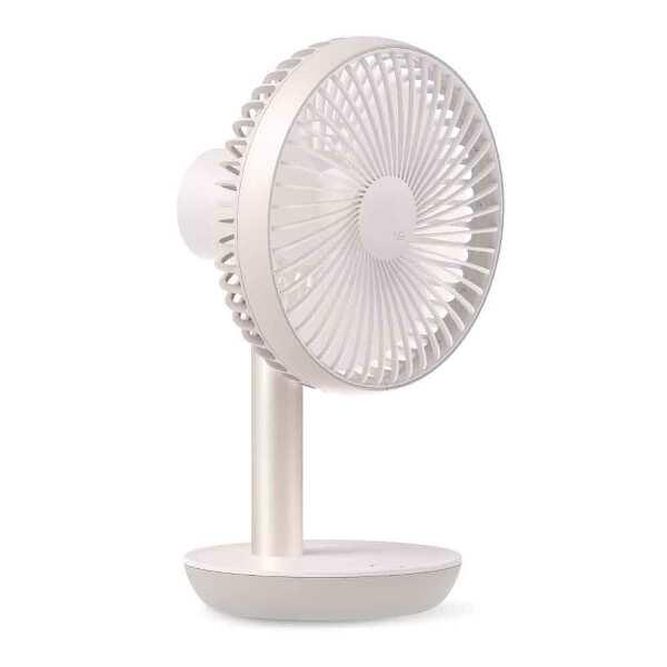 【ルーメナ―】 ルーメナ― ファンスタンド2 エア・サーキュレーター機能付コードレス扇風機 [カラー:パールピンク] [サイズ:W165×H268×D131mm] #LUMENAFSPK 【電化製品:家電・AV・カメラ:季節家電(冷暖房・空調):扇風機】【LUMENA LUMENA FAN STAND2】