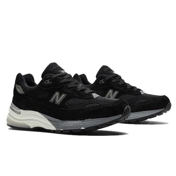 【ニューバランス】 ニューバランス M992BL [カラー:ブラック] [サイズ:26cm(US8) Dワイズ] [MADE IN USA] 【靴:メンズ靴:スニーカー】【M992】【NEW BALANCE New Balance M992BL】