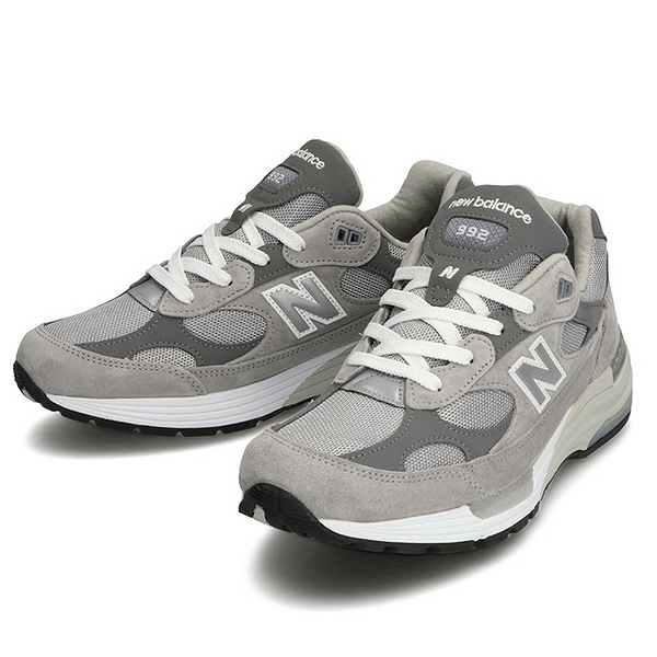 【ニューバランス】 M992GR [カラー:グレー] [サイズ:25cm(US7) Dワイズ] [MADE IN USA] 【靴:メンズ靴:スニーカー】【M992】【NEW BALANCE New Balance M992GR】