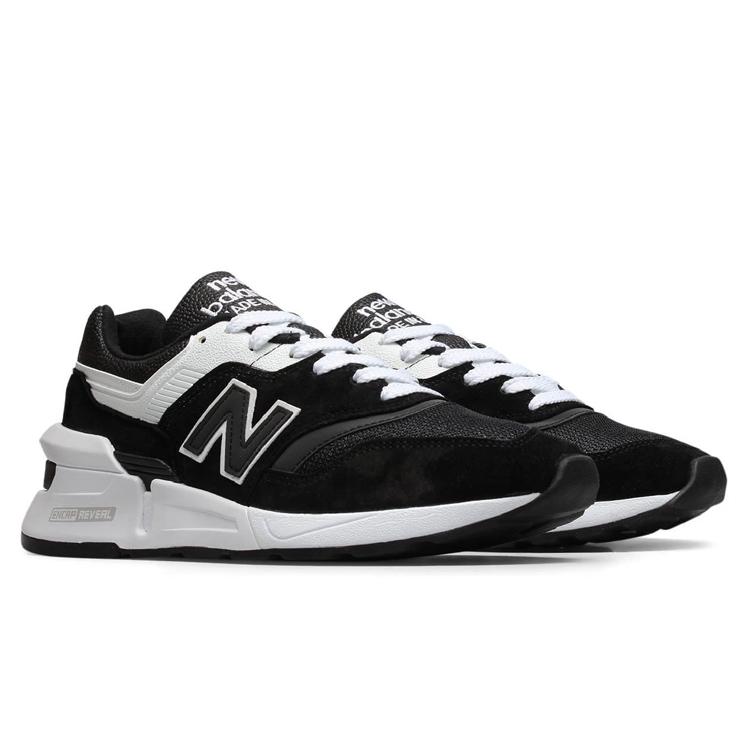 【ニューバランス】 M997SBW [サイズ:25.5cm(US7.5) Dワイズ] [カラー:ブラック×ホワイト] [MADE IN USA] 【靴:メンズ靴:スニーカー】【M997】【NEW BALANCE New Balance M997SOC】