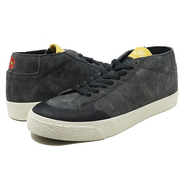 【ナイキ】 ナイキSB ズームブレーザーチャッカ XT [サイズ:29cm(US11)] [カラー:アンスラサイト×アンスラサイト×ファー] #AH3366-002 【靴:メンズ靴:スニーカー】【AH3366-002】【NIKE NIKE SB ZOOM BLAZER MID】