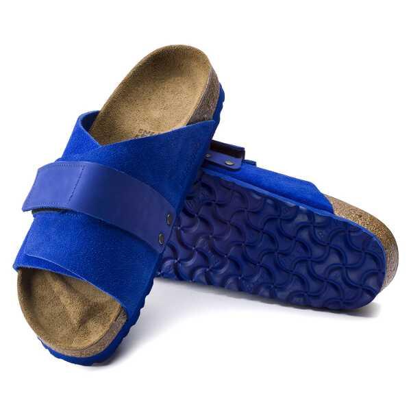 【ビルケンシュトック】 KYOTO ヌバック/スウェード レザ― [サイズ:EU42(27.0cm)] [カラー:ウルトラブルー] #1015574 【靴:メンズ靴:サンダル】【BIRKENSTOCK】