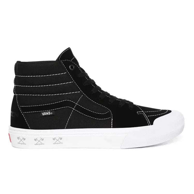 【バンズ】 バンズ スケート ハイ プロ BMX (Demolition) [サイズ:29cm(US11)] [カラー:ブラック×ホワイト] #VN0A45JV12I 【靴:メンズ靴:スニーカー】【VN0A45JV12I】【VANS VANS Sk8-Hi Pro Bmx】