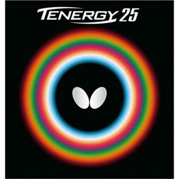 【バタフライ】 テナジー・25 卓球ラバ― [カラー:ブラック] [サイズ:厚] #05810 【スポーツ・アウトドア:卓球:卓球用ラバー】【BUTTERFLY】