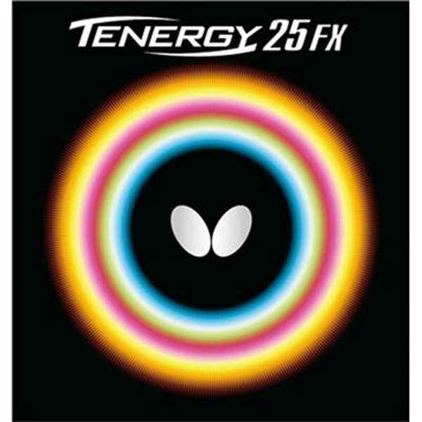 【バタフライ】 テナジー・25・FX 卓球ラバ― [カラー:ブラック] [サイズ:中] #05910 【スポーツ・アウトドア:卓球:卓球用ラバー】【BUTTERFLY】