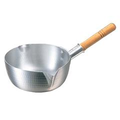 アルミ 打出ペリカン 雪平鍋 19.5cm :ビューティーファクトリー