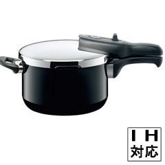 【シコマチック】 シコマチック Tプラス 圧力鍋 2.5L ブラック 【キッチン用品:調理用具・器具:圧力鍋】【シコマチック Tプラス 圧力鍋 ブラック】【SICOMATIC】