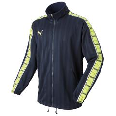 【プーマ】 トレーニングジャケット #862216 [カラー:(85)NV×Wライム] [サイズ:L] 【スポーツ・アウトドア:サッカー・フットサル:メンズウェア:ジャージ:アウター】【トレーニングジャケット】【PUMA】