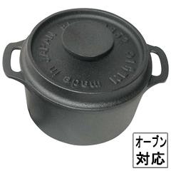 盛栄堂 ココット(キャセロール) ラウンド F-417 鉄製 :ビューティーファクトリー