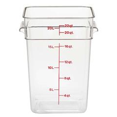 【キャンブロ】 キャンブロ 角型 フードコンテナー身 22SFSCW(135) 【キッチン用品:容器・ストッカー・調味料入れ:保存容器(材質別):プラスチック】【キャンブロ 角型 フードコンテナー】【CAMBRO】
