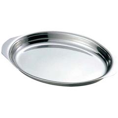 IKD 18-8 グラタン皿 #100 9インチ(約23cm) :ビューティーファクトリー