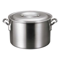 アルミ バリックス 半寸胴鍋(磨き仕上げ) 18cm :ビューティーファクトリー
