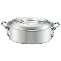 キング アルミ 外輪鍋(目盛付) 36cm :ビューティーファクトリー