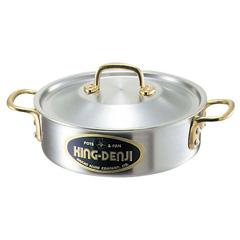 キングデンジ 外輪鍋(目盛付) 30cm :ビューティーファクトリー