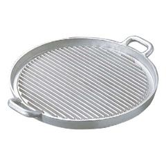 アルミイモノ 丸型 ステーキパン 大 570×460 :ビューティーファクトリー