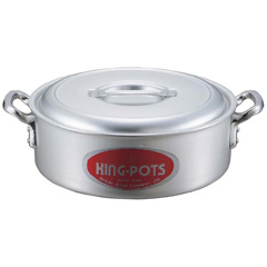 キングアルマイト 外輪鍋(目盛付) 42cm :ビューティーファクトリー