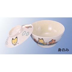 メラミン子供食器 キタキツネ 飯茶碗 身 J5BNF :ビューティーファクトリー