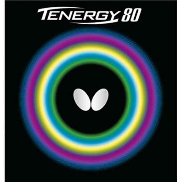 【バタフライ】 テナジー・80 卓球ラバ― [カラー:ブラック] [サイズ:中] #05930 【スポーツ・アウトドア:卓球:卓球用ラバー】【BUTTERFLY】