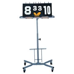 【バタフライ】 得点板用スタンド(キャスター付) #72260 【スポーツ・アウトドア:卓球】【BUTTERFLY】
