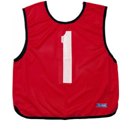 【モルテン】 ゲームベスト 10枚組 No.1~10 [カラー:赤] #GB0113R 【スポーツ・アウトドア:スポーツウェア・アクセサリー:ビブス・ゼッケン】【MOLTEN】