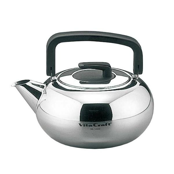 【ビタクラフト】 18-10 ビタクラフトケトル 1220 2.0L 【キッチン用品:調理用具・器具:やかん(ケトル)】【VITA CRAFT KETTLE】