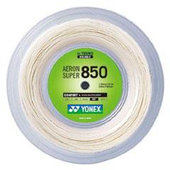 【ヨネックス】 テニスガット(硬式用) エアロンスーパ― 850 ロール巻き [カラー:ホワイト] [サイズ:長さ240m] #ATG850-2 【スポーツ・アウトドア:テニス:ガット】【YONEX】