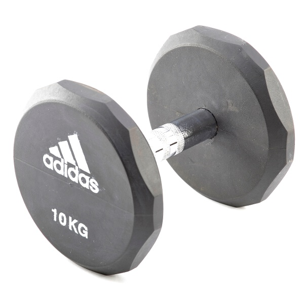 【アディダス】 ラバーダンベル 20kg #ADWT-10324 【スポーツ・アウトドア:フィットネス・トレーニング:スポーツ器具:ダンベル】【ADIDAS】