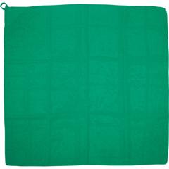 ループ付 カラースカーフ ミニ [カラー:緑]