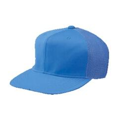 六方型半メッシュキャップ 野球キャップ [カラー:Pブルー] [サイズ:A(頭回り56~59cm)] #CP-14