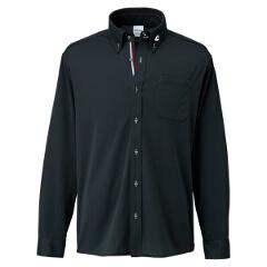 【コンバース】 ボタンダウン ロングスリーブシャツ [カラー:ブラック] [サイズ:S] #CB231401L-1900 【スポーツ・アウトドア:その他雑貨】【CONVERSE】