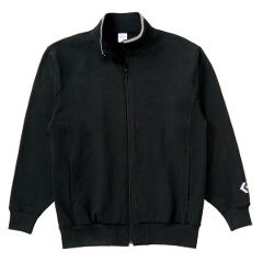 【コンバース】 フルジッパースウェットジャケット [カラー:ブラック] [サイズ:O] #CB141203-1900 【スポーツ・アウトドア:その他雑貨】【CONVERSE】