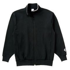 【コンバース】 フルジッパースウェットジャケット [カラー:ブラック] [サイズ:XO] #CB141203-1900 【スポーツ・アウトドア:その他雑貨】【CONVERSE】